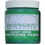 Dreamweaver Embossing Paste: Glossy Green
