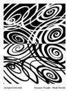 Melt Art Texture Treads - Mod Swirls