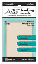 Sticky-Back Canvas ATC - Natural
