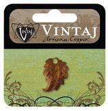 Vintaj Artisan Copper Prairie Leaf (CDP0006R)