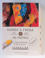 Sennelier Oil Pastels - 6 Introductory Colours