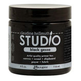 Claudine Hellmuth Studio Black Gesso