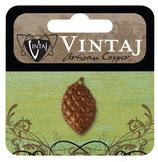 Vintaj Artisan Copper Pine Cone (CDP0005R)