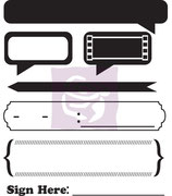 Prima Lady Bird 3 Clear Stamp Set (563141)