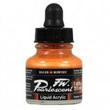DR Pearlescent Acrylic Ink - Sun Orange