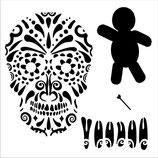 Andy Skinner Stencil: Voodoo