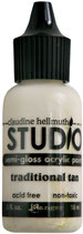 Claudine Hellmuth Studio Paint - Traditional Tan 0.5fl oz bottle