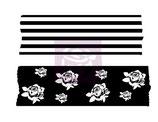 Prima Washi Tape Stamps: 564360 Stripe & Roses