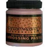 Dreamweaver Embossing Paste: Copper