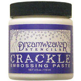 Dreamweaver Embossing Paste: Crackle