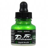 DR Pearlescent Acrylic Ink - Macaw Green