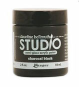 Claudine Hellmuth Studio Paint - Charcoal Black 2oz Jar