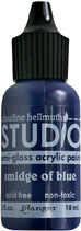 Claudine Hellmuth Studio Paint - Smidge of Blue 0.5fl oz bottle