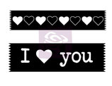 Prima Washi Tape Stamps: 564353 I Love You