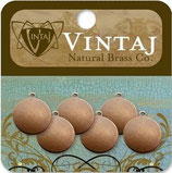 Vintaj Altered Blanks - 12mm Circle Tag