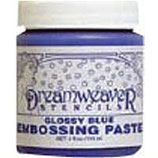 Dreamweaver Embossing Paste: Glossy Blue