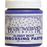Dreamweaver Embossing Paste: Glossy Blue