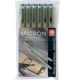 Pigma Micron 6 Fineliner Pack