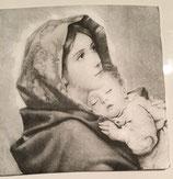Vintage - Madonna mit Kind / #000134