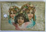 Vintage Geschenkanhänger / #VE000GA59