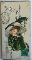 Vintage Geschenkanhänger / #VE000GA22