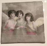 Vintage - 3 Engel am Singen / #000150