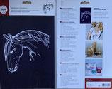 Schablone Pferd - #R-45-031-00