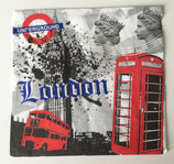 Serviette 40x40 - London / #000532