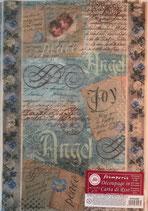 Decoupage Papier ca. 21x29,7 A4 / #DFSA 4009
