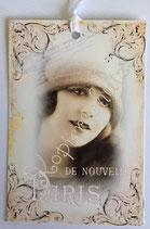 Vintage Geschenkanhänger / #VE000GA58