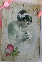 Vintage Geschenkanhänger / #VE000GA66