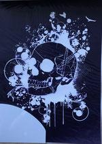 Schablone Skull - #R-45-003-00