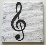 Musikschlüssel & Noten / #000379