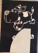 Schablone Hund - #R-45-051-00
