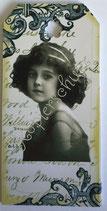 Vintage Geschenkanhänger / #VE000GA36