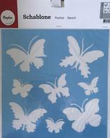 Schablone Schmetterling - #R-38-475-00