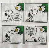 Serviette 33x33 / #snoopy002