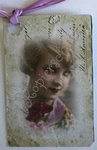 Vintage Geschenkanhänger / #VE000GA65
