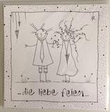 Karten Hochzeit / Geburt / #LD000KV03