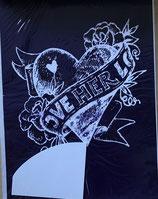 Schablone Heart - #R-45-002-00