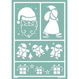 Softschablone: Santa