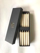 白・小丸(10本入り)箱売り 伝統の和ろうそく