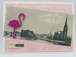Frankfurt: Sachsenhausen mit Flamingo