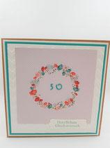 50. Geburtstag: Frau