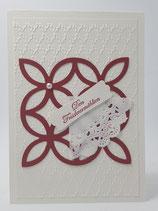 Hochzeitskarte Perle