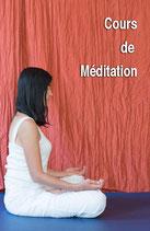 Cours de Méditation - Carte 12 cours