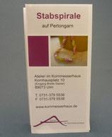 Anleitung Stabspirale