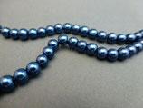 K15 Wachsperle Nachtblau 6mm
