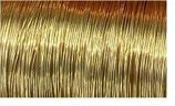 D02 goldfarben Messingdraht