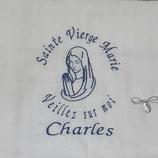 lange coton motif religieux